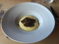 Mash with truffles