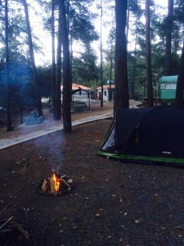Platania campsite