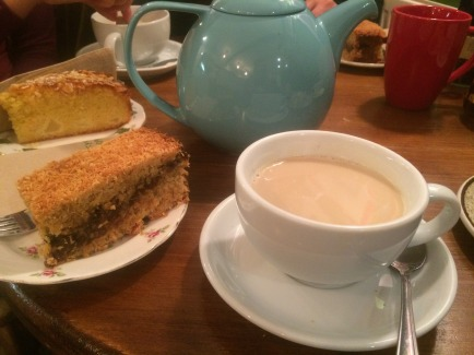 Cake and tea!