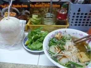 Vietnamese tofu & noodles