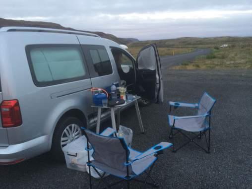 Camping in Hveragerði