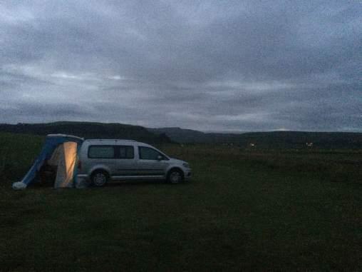 Camping in Kirkjubæjarklaustur