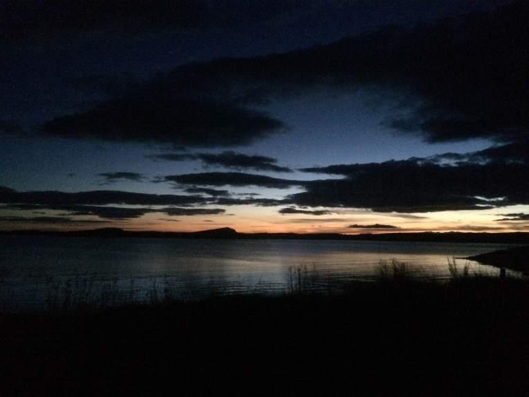 Sunset at Borgarnes