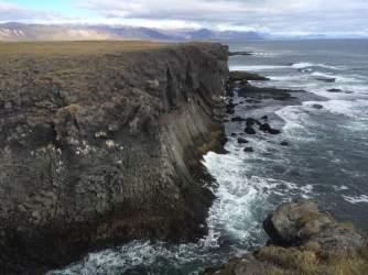 Arnarstapi sea cliffs