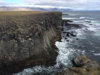 Arnarstapi sea cliffs