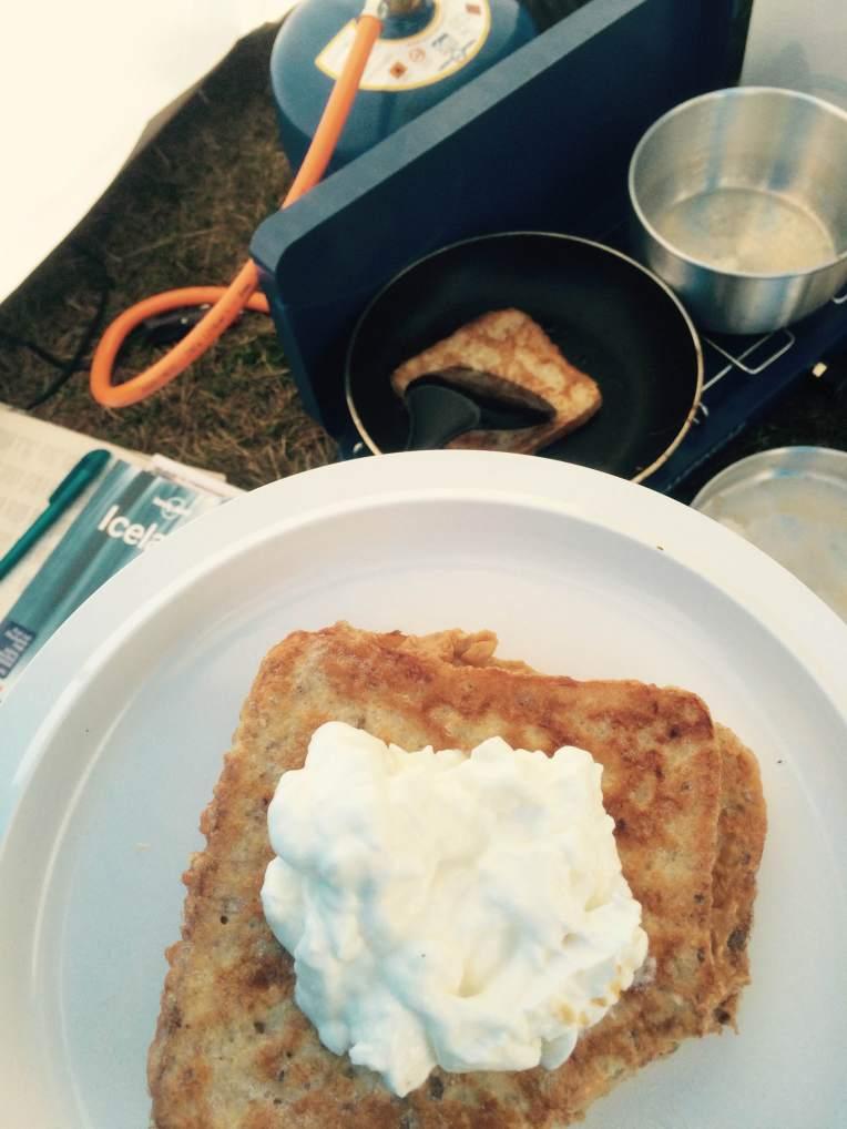 Skyr on French toast