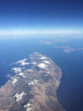 Flying over Kalymnos