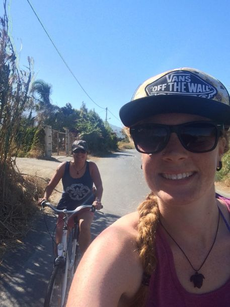 Cycling to Kos Town