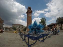 Glass sculpture in Murano