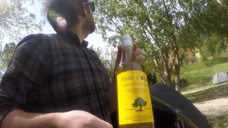 Local olive oil