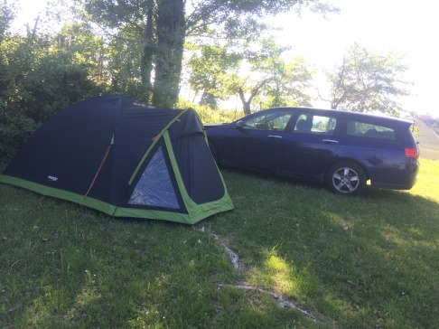 Home is where you put the tent