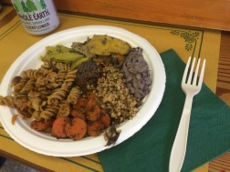Mixed lunch plate