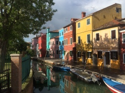Canals in Burano