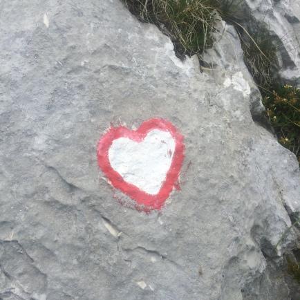 Hiking waymark