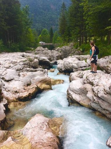 Bye bye Soča river