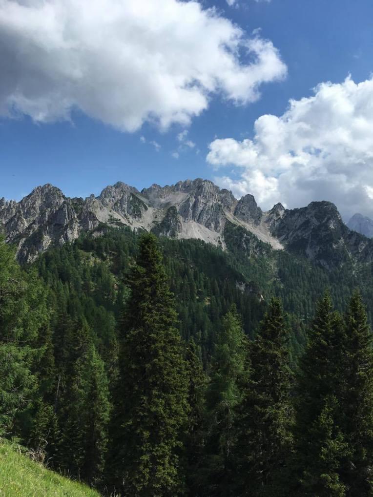 Cacciatore mountains