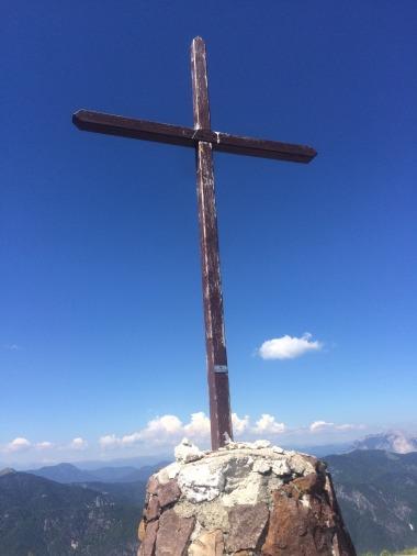 The top of Mount Lussari