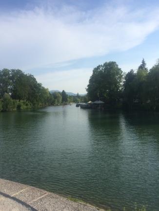 River in Ljubljana