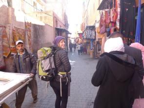Winding through the medina, Marrakesh