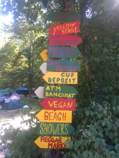 Festival directions
