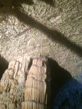 Spaghetti stalactites