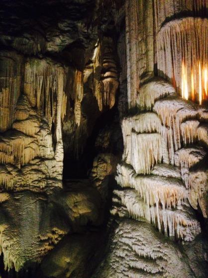 Inside Postojna