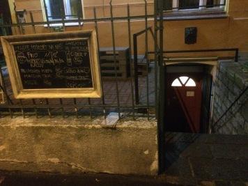 Hidden restauran