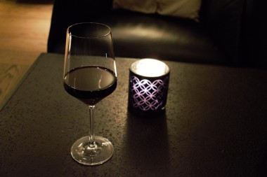 Glass of Savoie Rouge