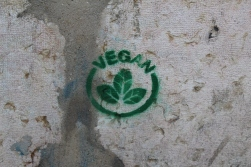 Vegan graffiti