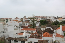 View from the castle in Tavira