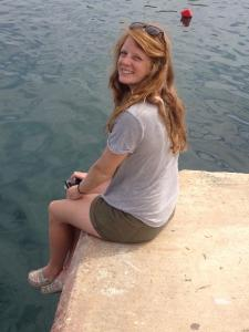 Sat at Chania harbour