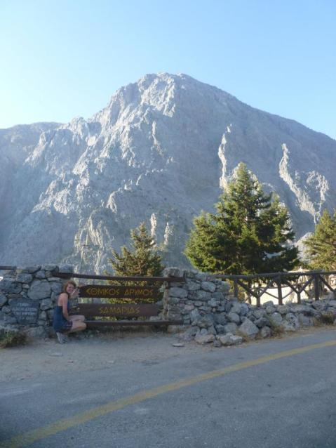 Start of Samaria Gorge