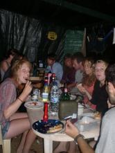 Dinner in camp