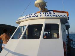 Manoli's boat