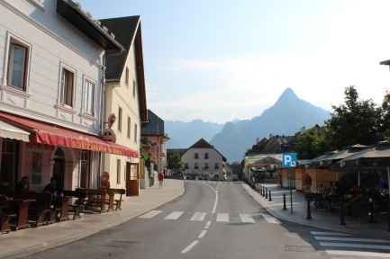 Centre of Bovec
