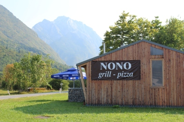 Nono Bovec in the morning sun
