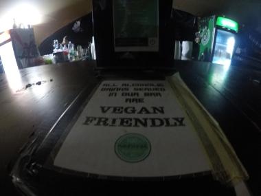 Vegan friendly bars