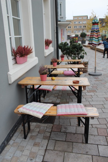 Bit cold for outdoor seating