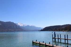 Views down the lake