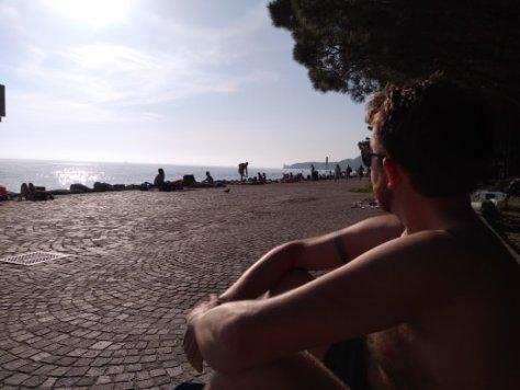 Barcola beach