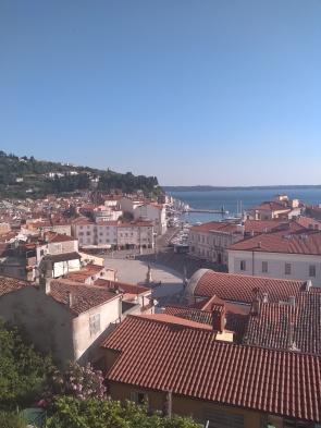 Overlooking Piran