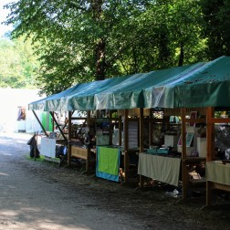 Homemade craft market