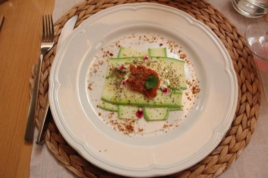 Lasagnetta estiva di zucchine