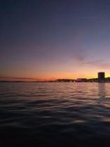 Split sunset