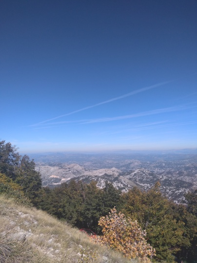 11km hike at Lovcen