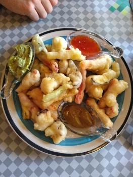 Vegan tempura veg
