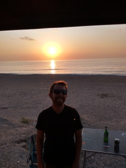 Sunset at Kathisma