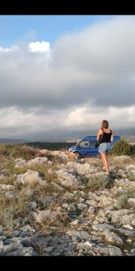 Wild camp, Dubrovnik